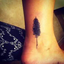 inner ankle tree search tattoos