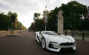 citroen supercar citroën gt invades streets of london