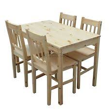 Kitchen Table And Chairs EBay - Pine kitchen tables and chairs