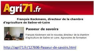 chambre agriculture saone et loire françois kockmann