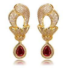 jewelry large rings images Dubai jewellery large dangle earrings with big tear drop pendant jpg