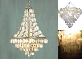 Paper Lighting Fixtures Capiz Shell Drum Chandelier With Smoked Two Tier 615 00 Lighting