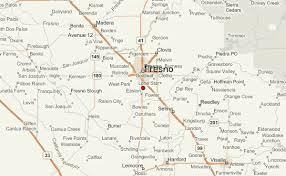 map of fresno fresno location guide
