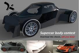 auto designen 500 supercar challenge 2013 grabcad