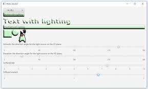 java buddy interactive demo of javafx lighting effect of light