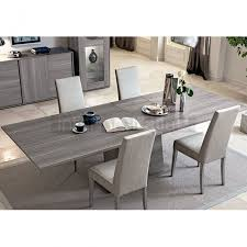 grey marble dining table modern italian dining set futura grey sawmarked oak collection sale
