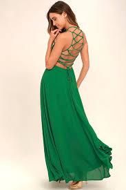 green dress chic green dress lace up dress backless dress maxi dress