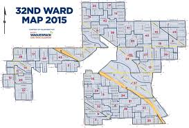 chicago voting map voting chicago s 32nd ward service website alderman