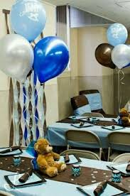 teddy baby shower decorations teddy baby shower balloon centerpieces with personalized