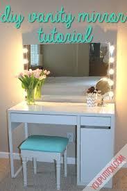 vanity set lighted mirror makeup with light up bedroom sets black
