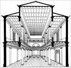 interno di una basilica romana