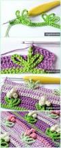 Free Pattern For Crochet Flower - inline crochet flower stitch free patterns