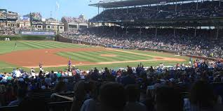 Wrigley Field Bathroom Wrigley Field Section 420 Chicago Cubs Rateyourseats Com