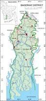 Map Of Bangladesh Maps Of Bangladesh Bagerhat District