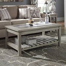 veldar coffee table with magazine rack wayfair couches