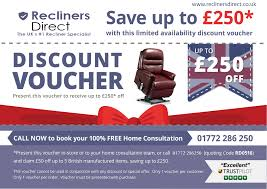 printable vouchers uk recliners direct 250 discount voucher redeem online in store or