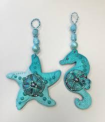 aquatica sea series polymer clay ornaments the clay monet