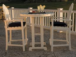 cool bar style patio furniture on outdoor high top tables ataa