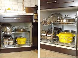 Organizers For Kitchen Cabinets by Best 25 Pot Organization Ideas Only On Pinterest Pan