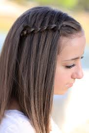 cute waterfall braid hairstyles hair style and color for woman