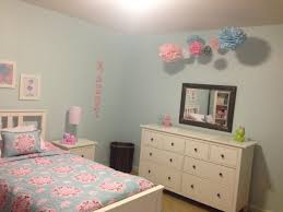 light blue girls bedding maddy s completed light blue pink big room pottery barn