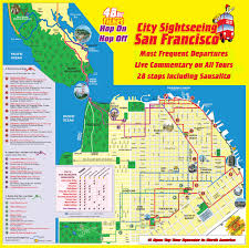 Map San Francisco by Map Of San Francisco Attractions Printable Printable Maps