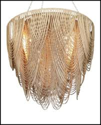 Leather Chandelier High Thorn Leather Chandeliers U0026 Pendants Handmade In South