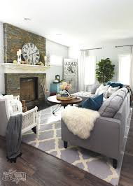 modern farmhouse living room ideas my home style before and after modern boho country living room