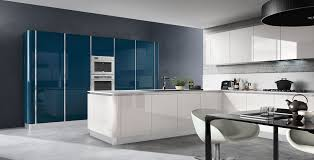 contemporary kitchen laminate l shaped lacquered sigma
