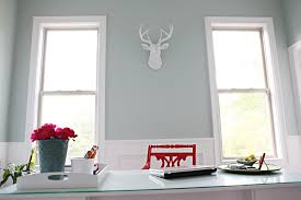 Benjamin Moore Palladian Blue Bathroom Palladian Blue And Red Home Office Interiors By Color