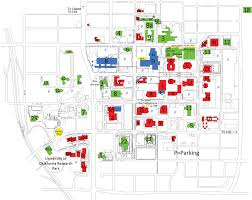 okc zip code map maps parking oklahoma health center foundation