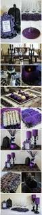 halloween themed wedding decorations diy purple u0026 black glitter u0026 glam halloween party ideas your