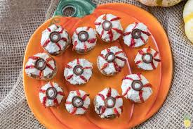 halloween edible eyeballs ricotta stuffed mushrooms oil u0026 gluten