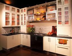 modern kitchen cabinet glass door amazing kitchen cabinets with glass doors modern design