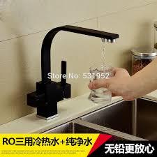 cer kitchen faucet deck mounted 100 brass kitchen faucet black water filter