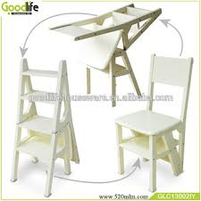 wooden folding kitchen step stool ladder made in china buy