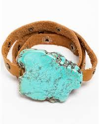 turquoise stone bracelet images Idyllwind women 39 s leather wrap bracelet with turquoise stone JPG