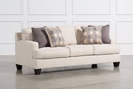 sofa sleeper brielyn linen sofa sleeper living spaces
