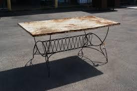 Retro Patio Table by Best Vintage Metal Patio Table Patio Design 382