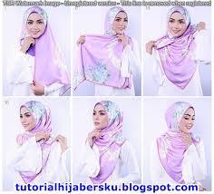 tutorial jilbab ala ivan gunawan 6 cantik tutorial hijab paris cmeythasari untuk kondangan tutorial