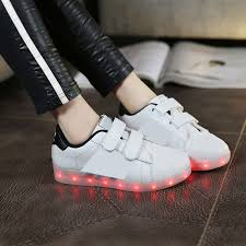 how to charge light up shoes in autumn 2016 children sports shoes boys luminous shoes velcro