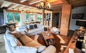 luxury ski in ski out chalets