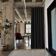 Room Dividers Floor To Ceiling - floor to ceiling curtains amazon com