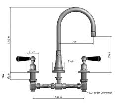 Barand Faucet Widespread Kitchen Faucets