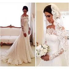 wedding dress mermaid white wedding dresses sleeves wedding gown lace wedding gowns