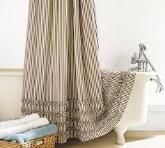 Navy And White Striped Shower Curtain Best 25 Striped Shower Curtains Ideas On Pinterest Green Home