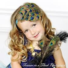feather headband beautiful peacock eye feather headpiece for infants women
