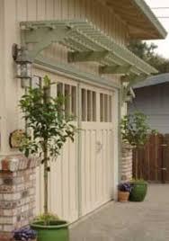 Pergola Landscaping Ideas by Pergola Over Garage Door Trellis Over Garage Doors Landscaping