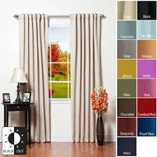 Style Selections Thermal Blackout Curtains Beesley Thermal Blackout Grommet Single Curtain Panel Thermal