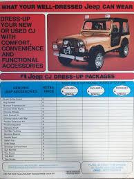 chrome jeep accessories 1982 jamboree history